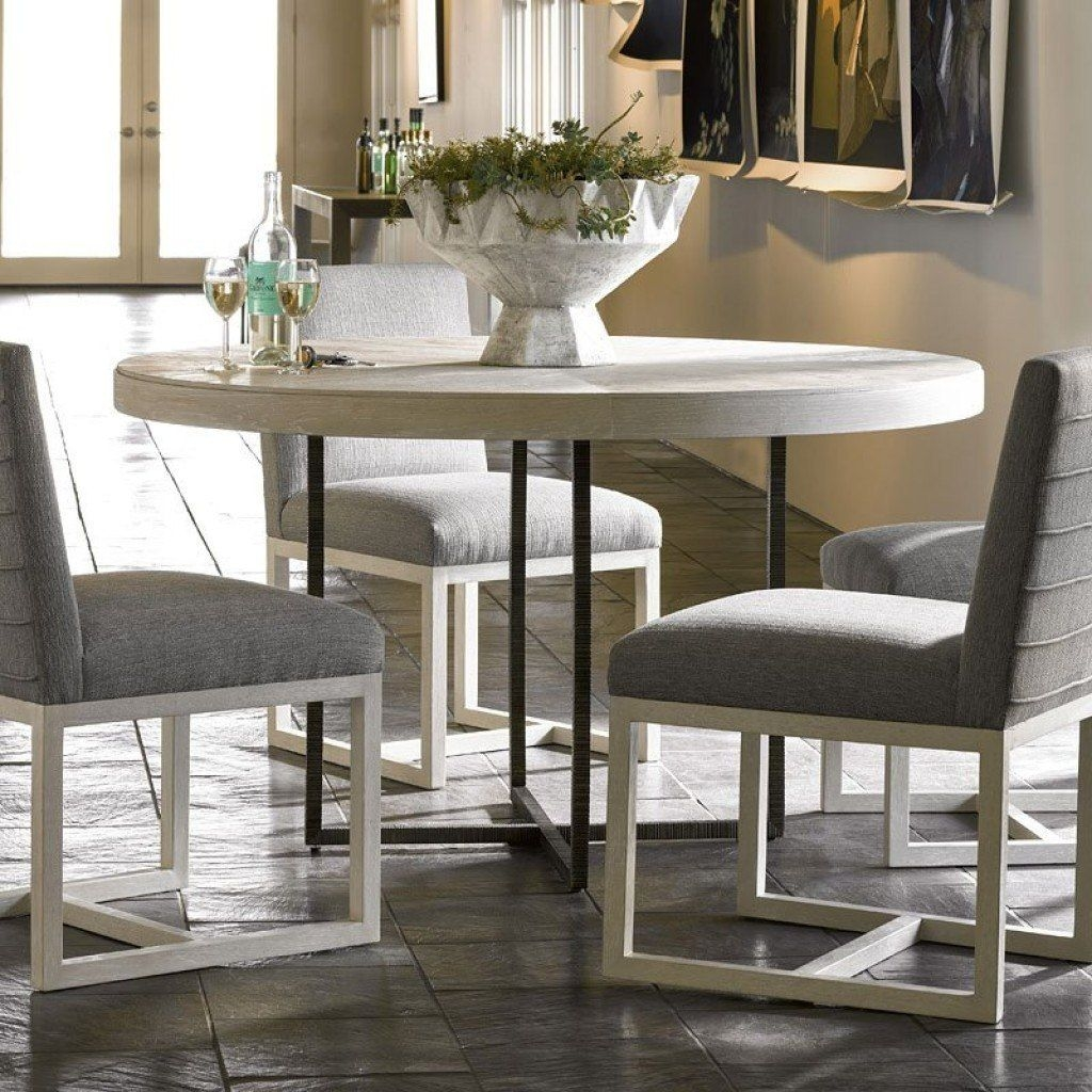 Modern Robards Round Dining Table Quartz Universal Furniture  Furniture Cart