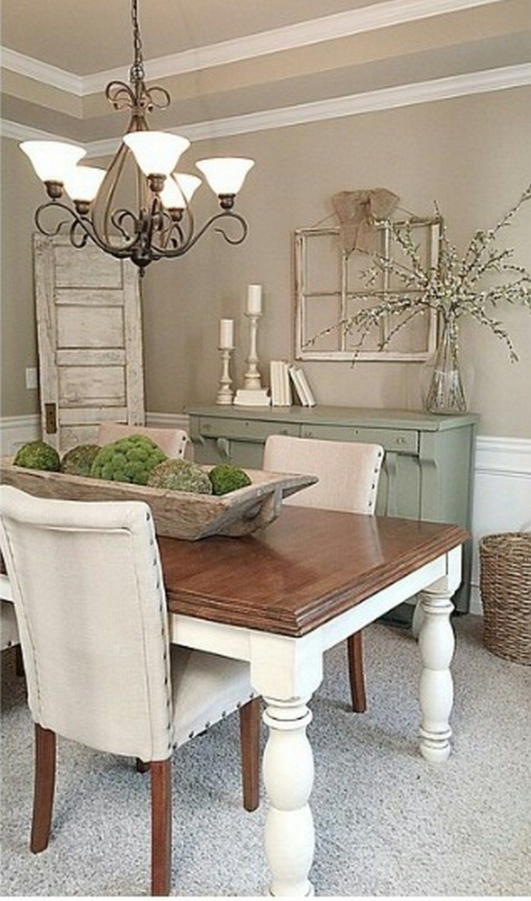 Modern Rustic Farmhouse Dining Room Style 22  Modern Farmhouse Dining Room Dining Room Style