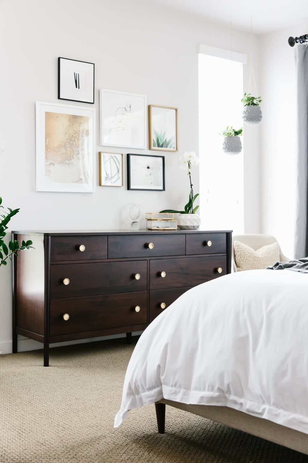 My Modern And Minimalist Bedroom Design With Havenly  Downshiftology