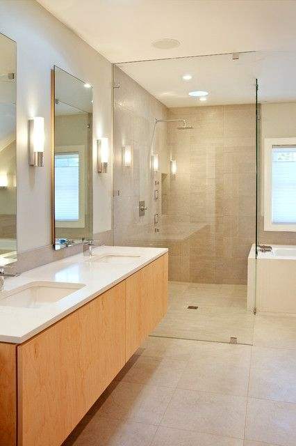 New Castle Modern  Modern  Bathroom  Portland Maine Marcye Philbrook