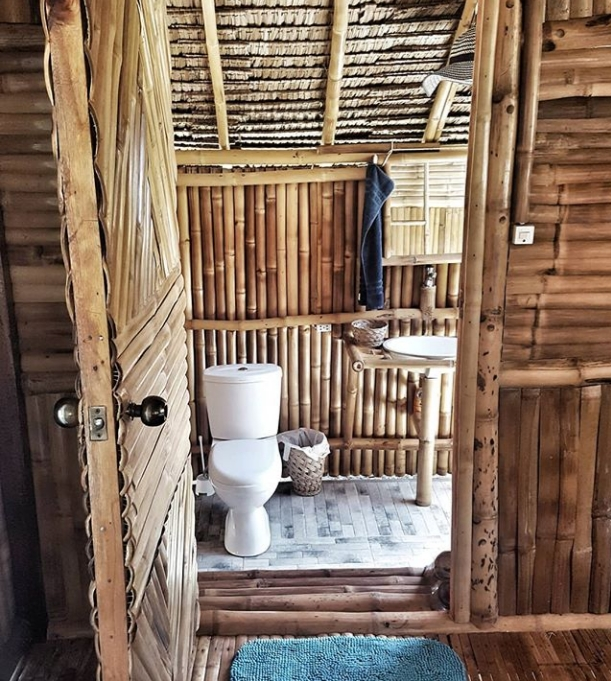 Nipa Hut Bathroom  Bamboo House Design Wooden House Design Bamboo House