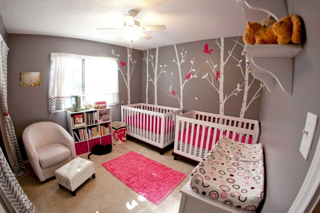 Nursery Tour  A Modern Twist For Twins  Twin Baby Rooms Nursery Twins Baby Nursery Design