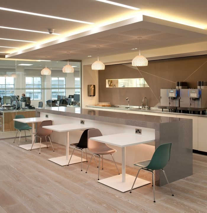 Office Tour Private Investment Bank – London Offices  Spaces For Dining Or Breaking  Office
