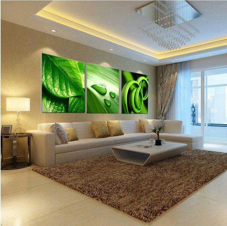 Oil Painting On 3 Piece Cheap Modern Paintings For Living Room Wall Art Print Canvas Picture