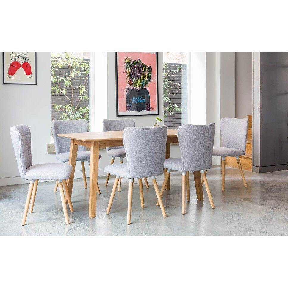 Outandoutoriginal Dover Dining Table And 6 Chairs  Wayfair Uk