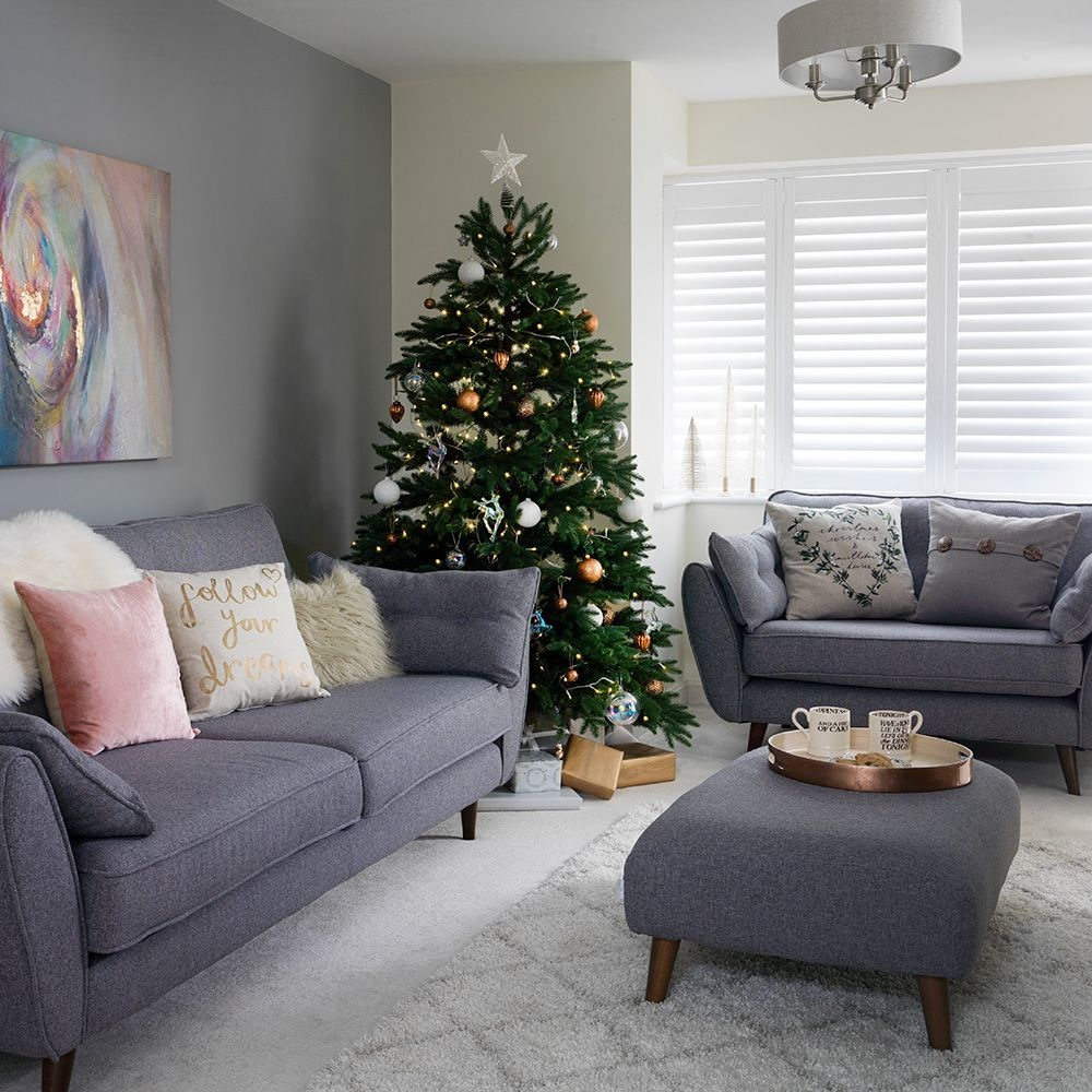 Pale Grey Living Room With Winter White Textures  Living Room Color Schemes Simple Living Room