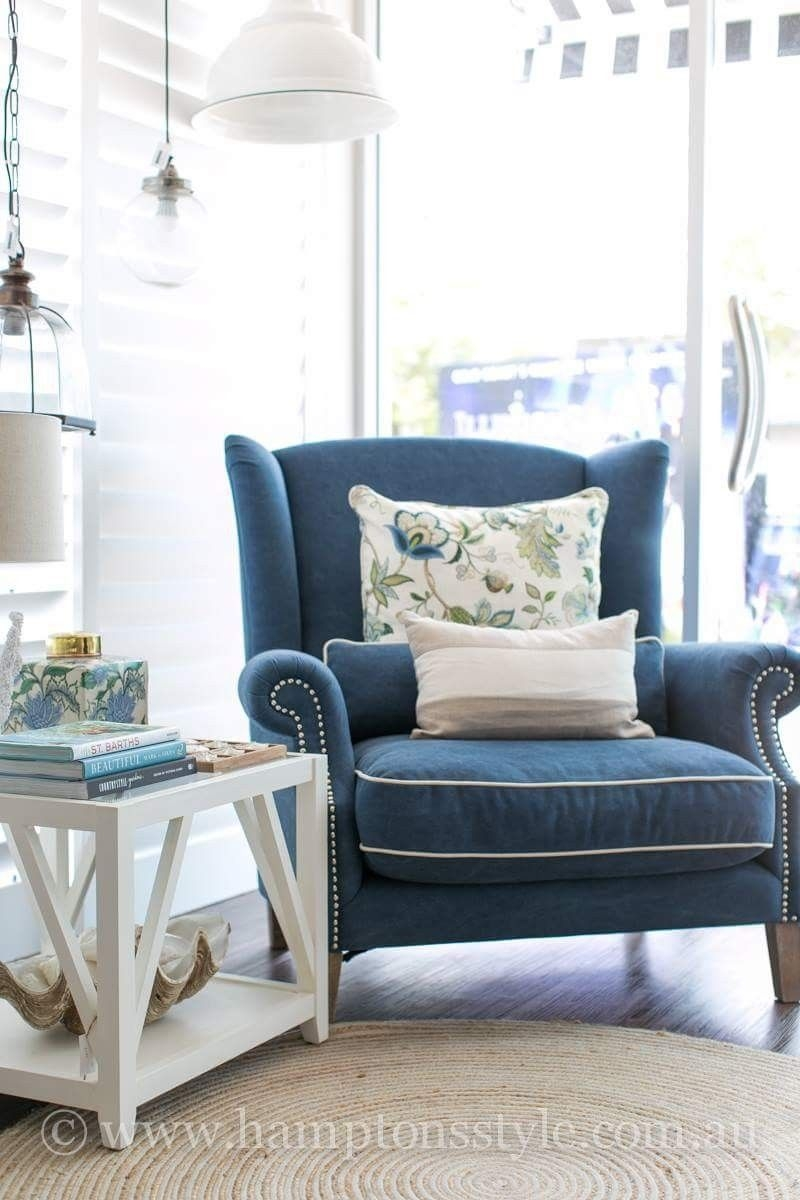 Pinalison Gould On House Ideas  Blue Chairs Living Room Comfy Chairs Wayfair Living Room