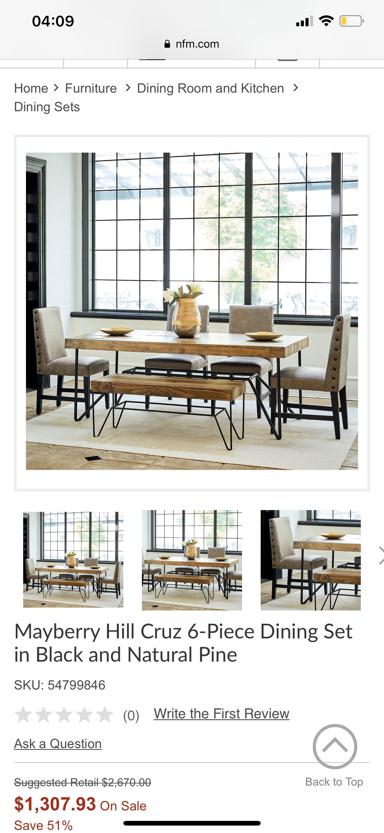 Pinhalee Finn On 1414  Dining Room Furniture Kitchen Dining Sets Home Furniture
