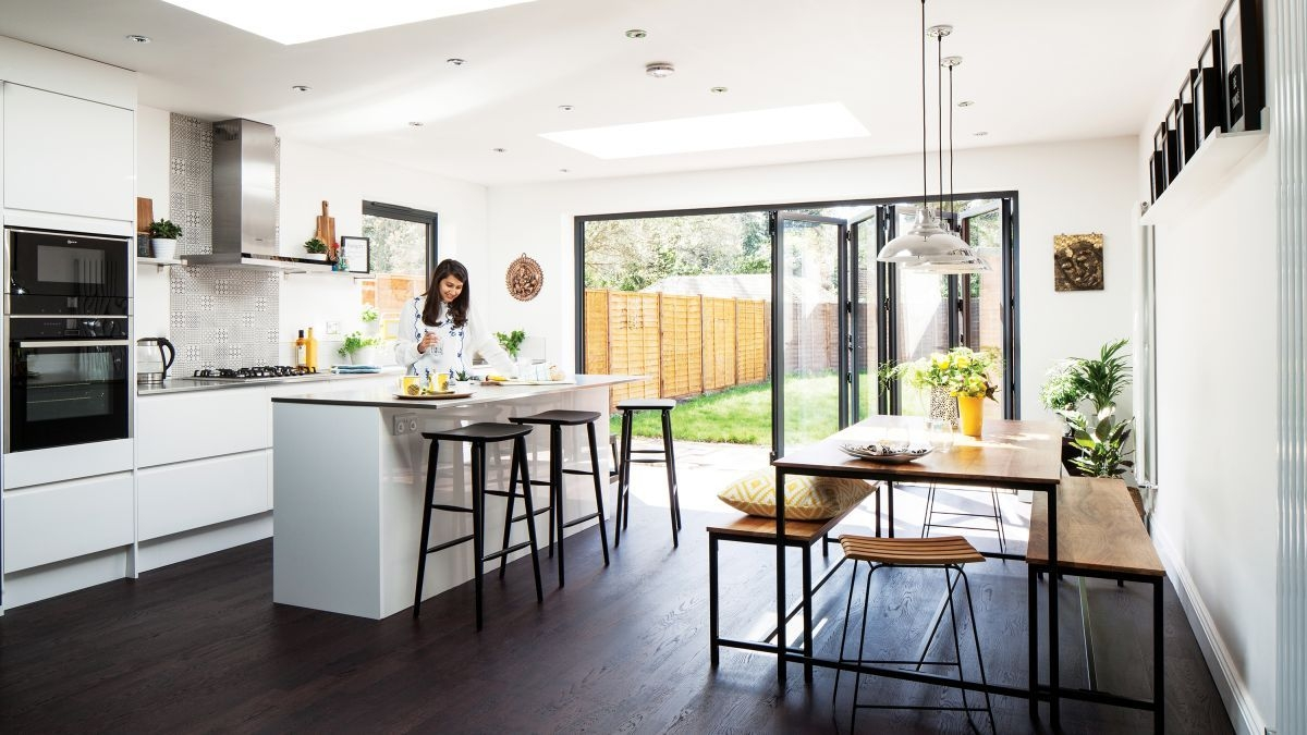 Real Home A Modern Kitchen Extension And Remodel For Under £100K  Real Homes