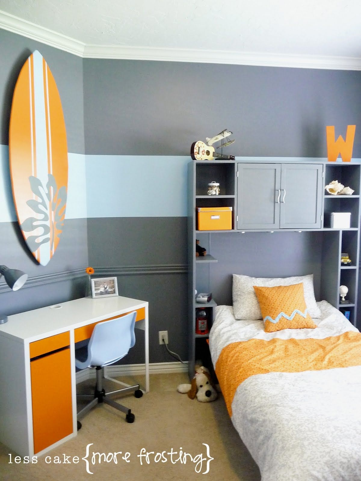 Remodelaholic  Boys Bedroom Interior Design Makeover