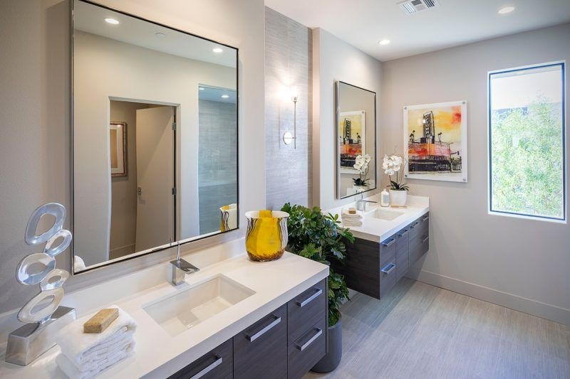 Secrets To Making Your Bathroom Feel Like A 5Star Hotel  Christopher Homes