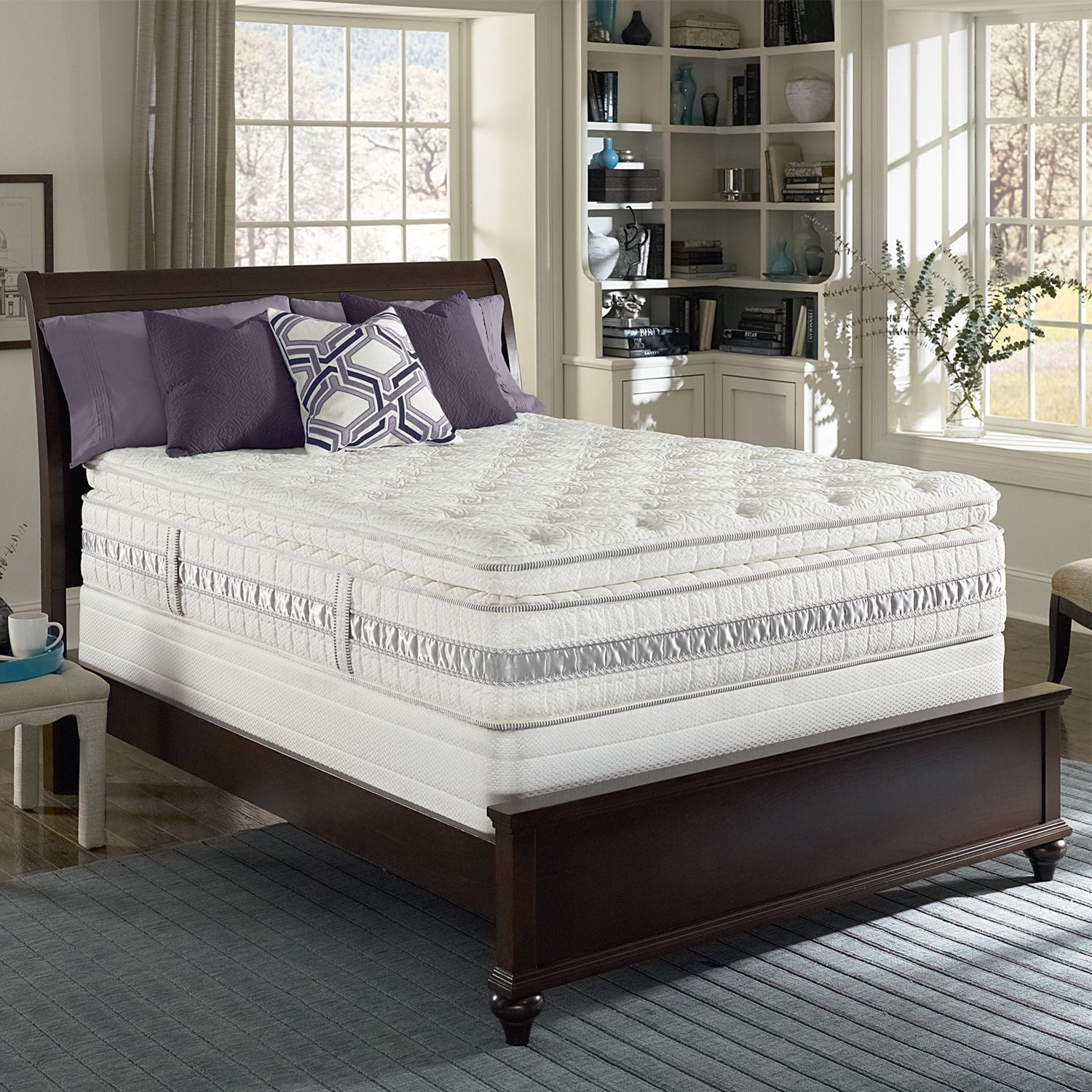 Serta Perfect Sleeper Wincroft Luxury Pillowtop Mattress Set  Queen  Sam'S Club With Images