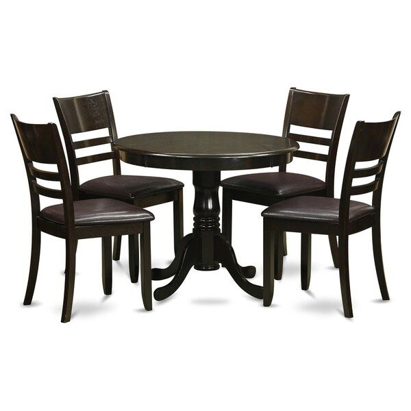Shop 5Piece Kitchen Table Set And 4 Dinette Chairs  Free Shipping Today  Overstock  10195830