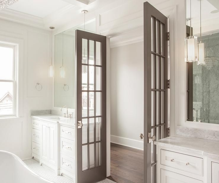 Small French Doors For Bathroom  Kowalski Furniture Design