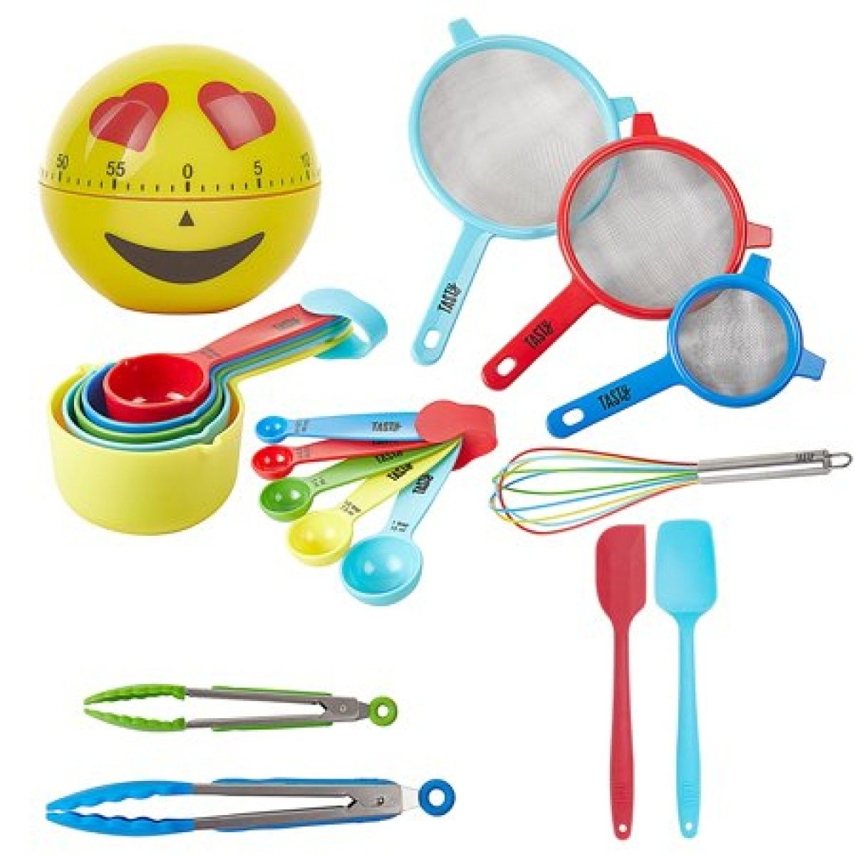 Tasty 19Piece Kitchen Utensil And Gadget Set