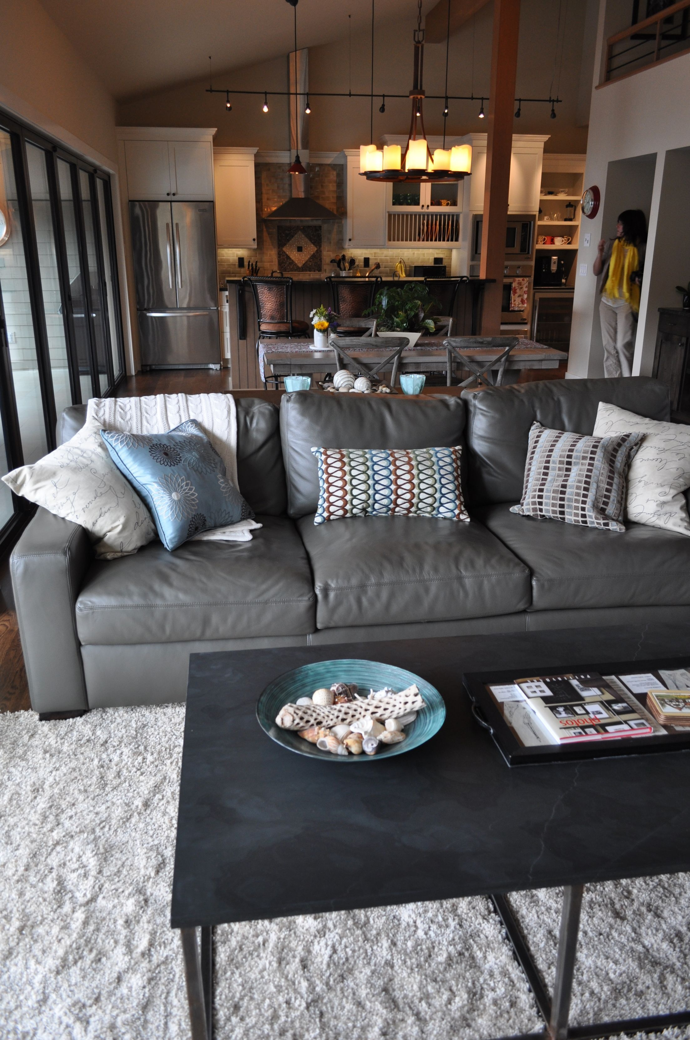 The 25 Best Grey Leather Couch Ideas On Pinterest  Living Room Decor Brown Couch Living Room