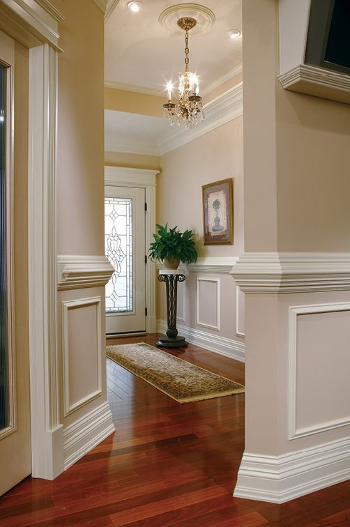 The Empire Company  Inspiration Gallery  Moulding Ideas Gallery  Wainscoting Styles Home