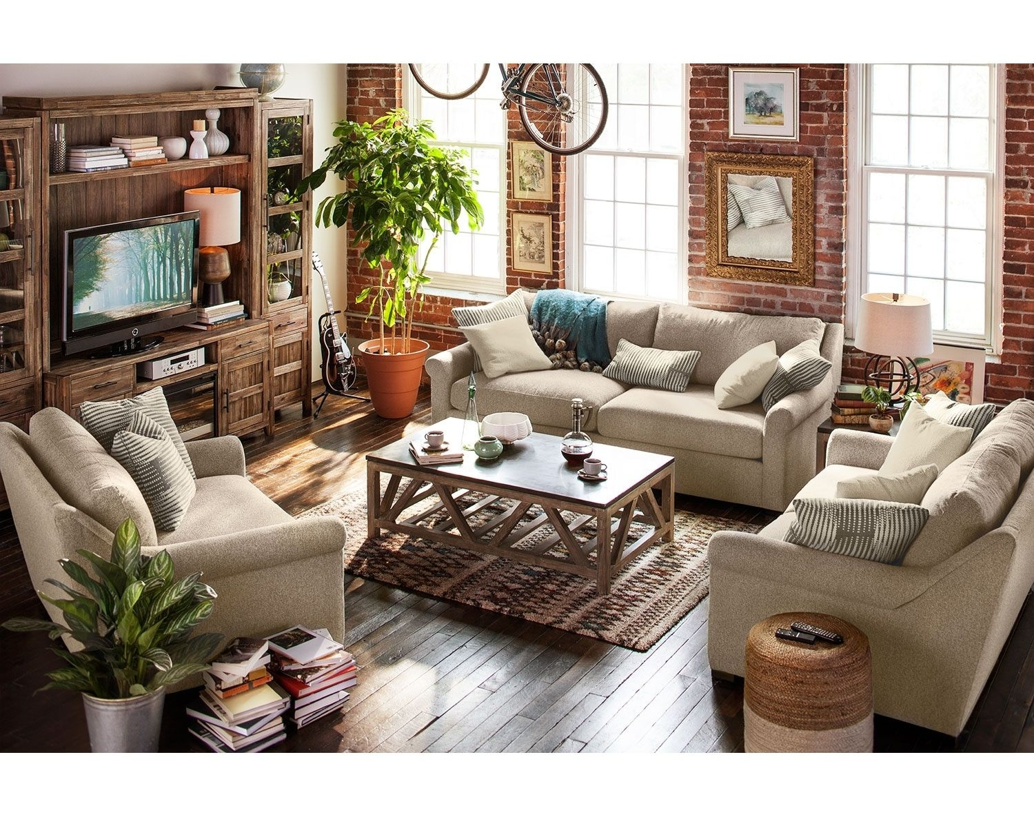 The Robertson Comfort Collection  Beige  American Signature Furniture