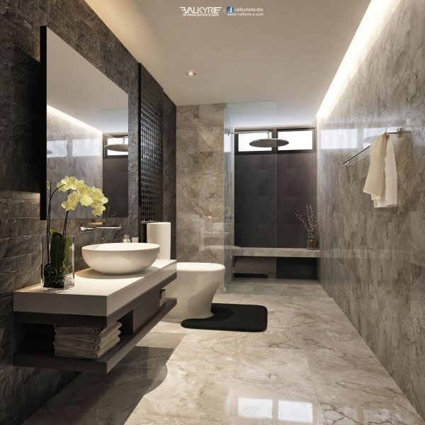Top 5 Modern Bathroom Design To 2018  Bathroom Design Luxury Modern Bathroom Design Luxury Decor