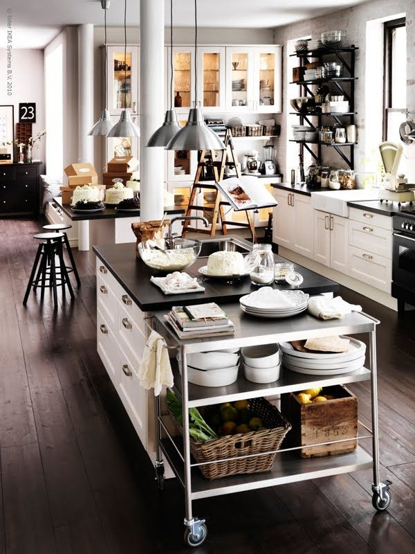 Vintage Industrial Chic – Kitchen Studio Of Naples Inc