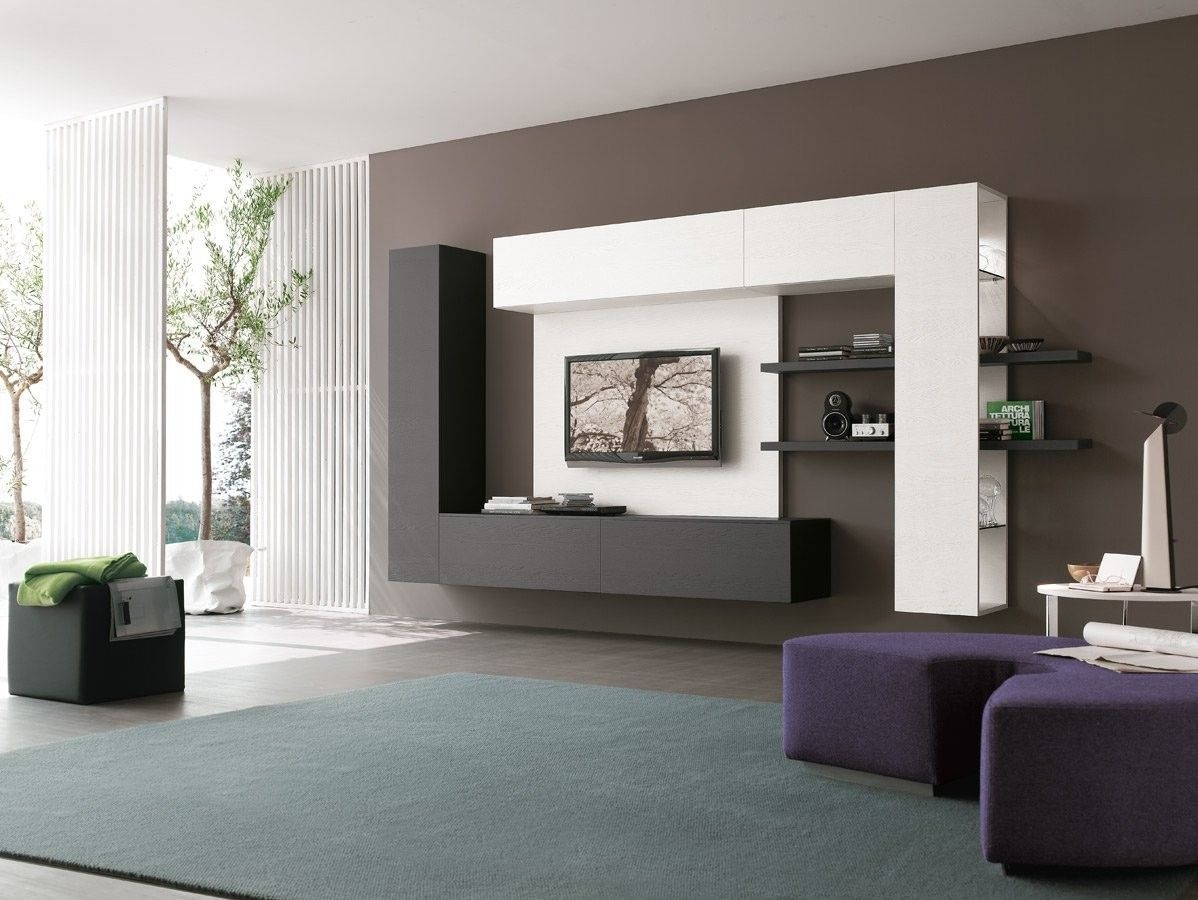 Wall Unit Comp C129Tomasella Italy  Modern Tv Wall Units Wall Tv Unit Design Wall Unit