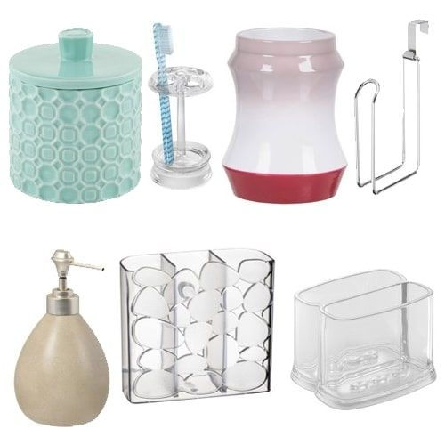 Walmart Bathroom Accessories Clearance Sale As Low As 299  Fabulessly Frugal