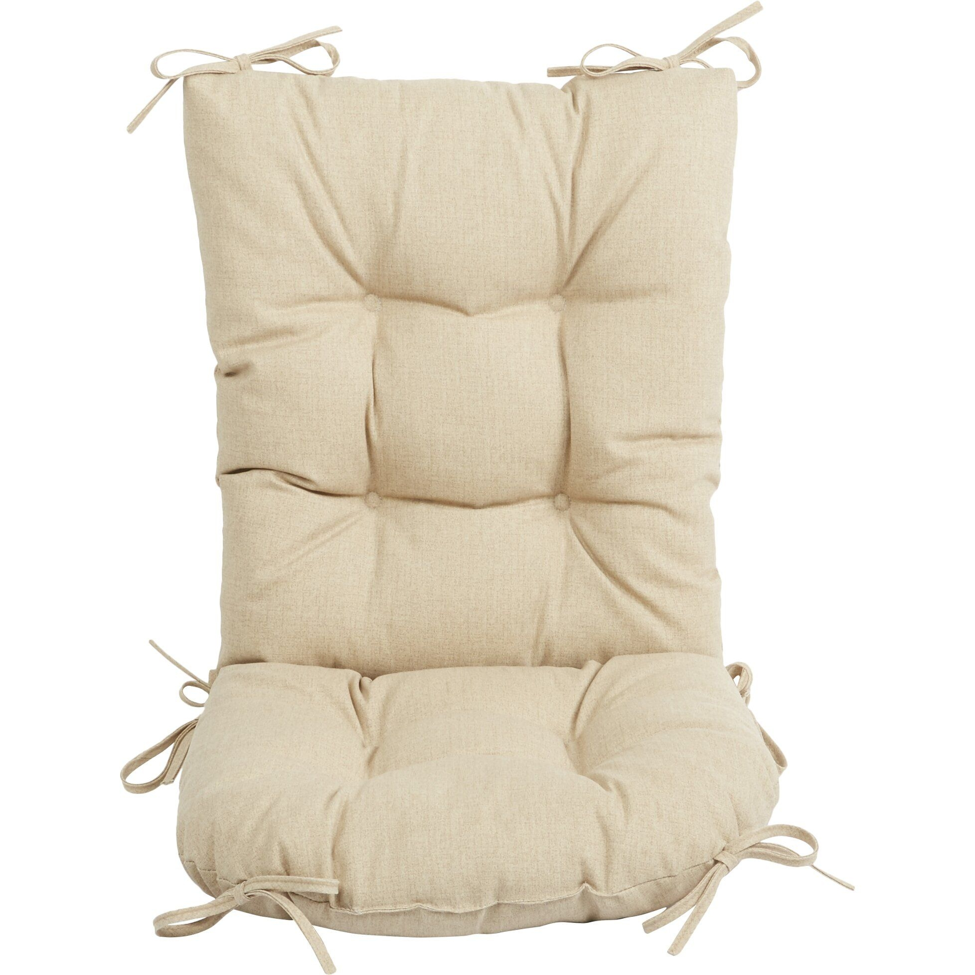 Wayfair Basics Wayfair Basics Outdoor 2 Piece Rocking Chair Cushion Set  Reviews  Wayfairca