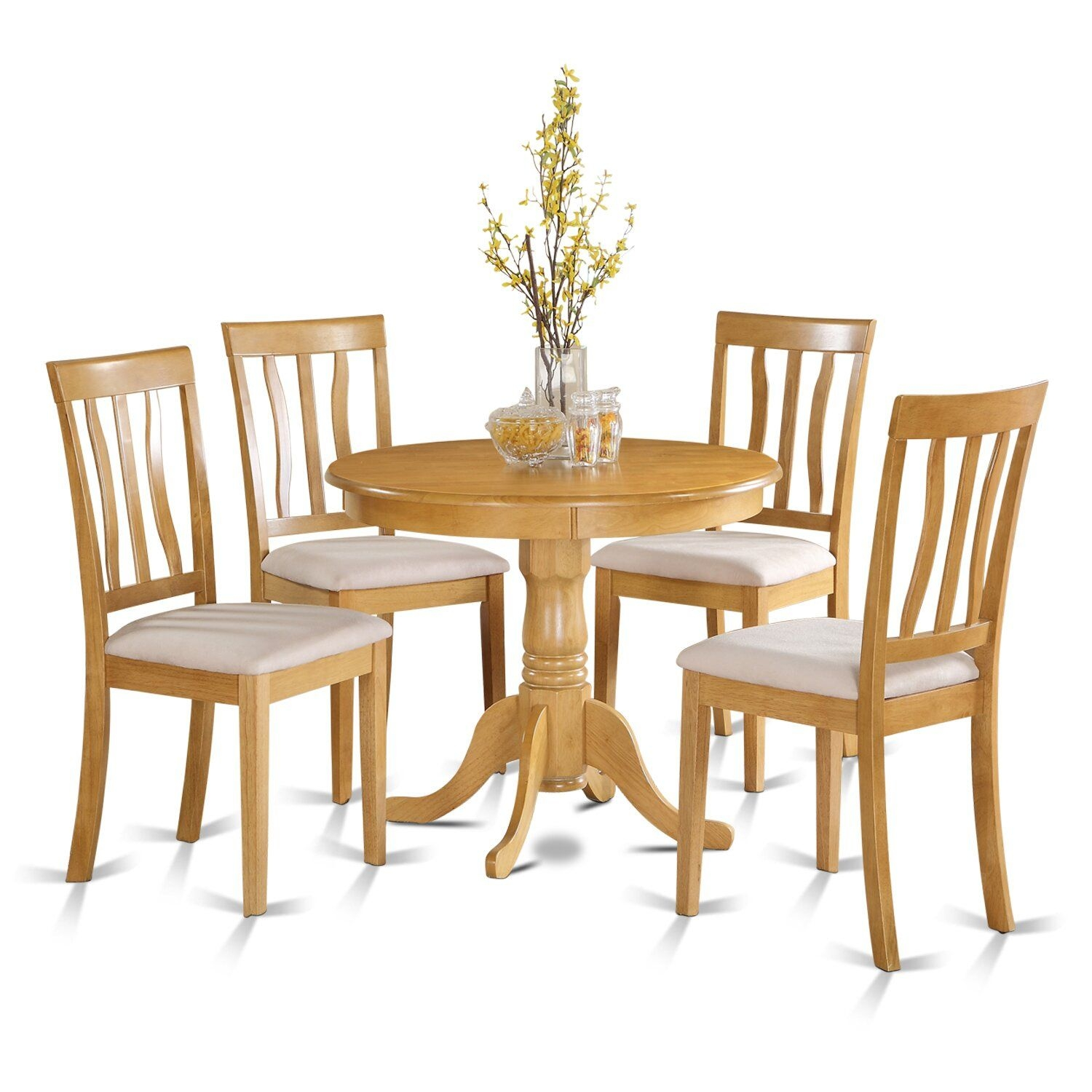 Wooden Importers 5 Piece Dining Set  Reviews  Wayfair